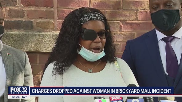Woman says she's partially blind after Brickyard Mall arrest, filing suit against city