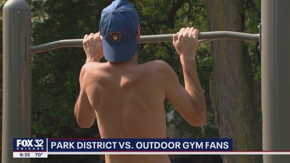 Chicago Park District vs. outdoor gym fans