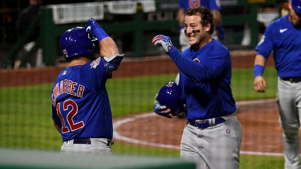 Cubs clinch playoff spot despite loss to Pirates