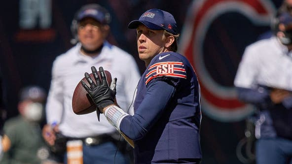 Nick Foles named Bears starting quarterback for Week 4