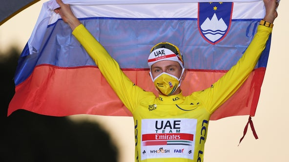 Tour de France ends with 21-year-old winner, no cyclists testing positive for COVID