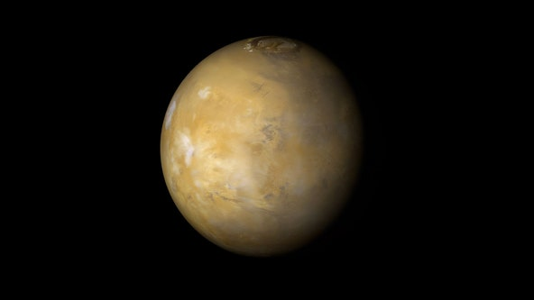 Salty lake, ponds may be gurgling beneath South Pole on Mars