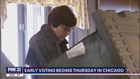 Early voting in Chicago begins Thursday