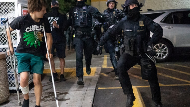 77a182c6-Daily Protests In Portland Continue Into Third Month