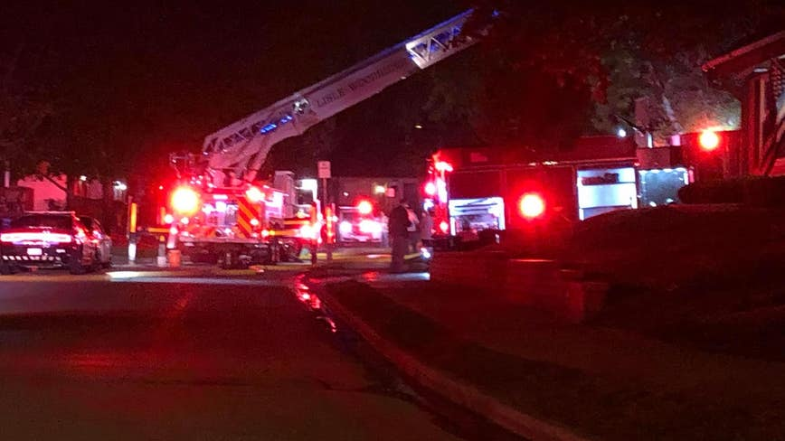 Teen rescued from Lisle house fire