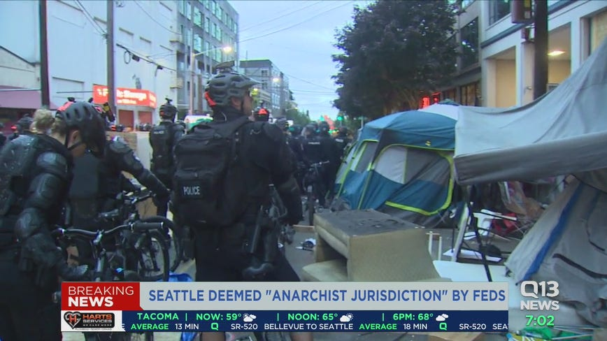 Feds deem Seattle, Portland, New York City as 'anarchist jurisdictions'