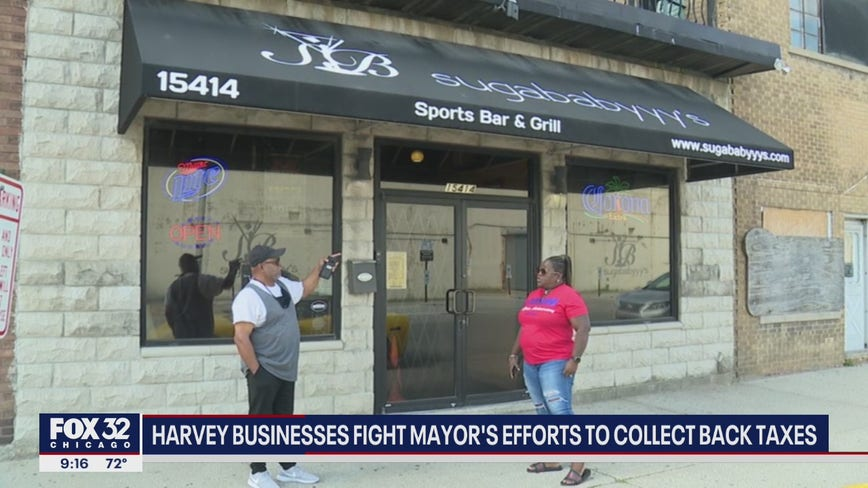 Some Harvey business owners forced to come up with $10K deposit for back taxes
