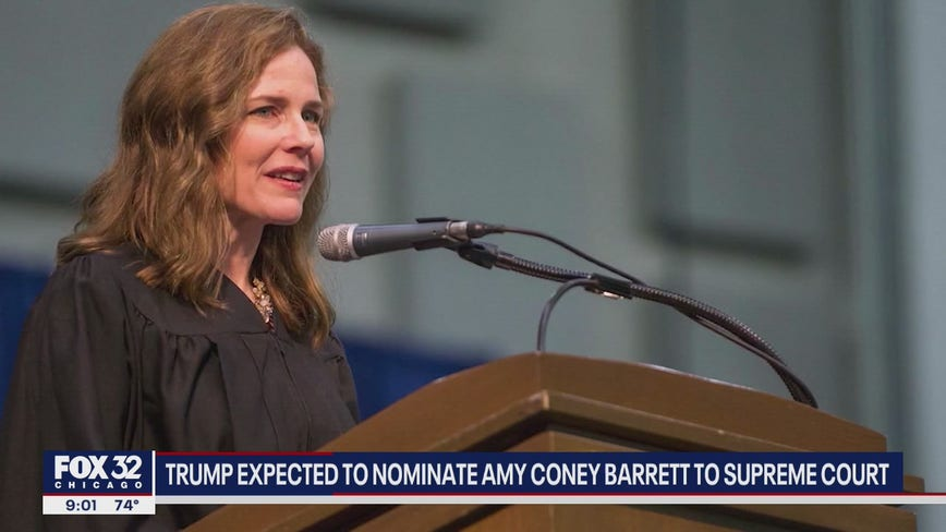 Trump expected to announce conservative Barrett for Supreme Court