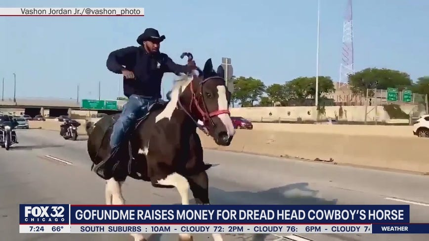 GoFundMe pages raises nearly $10K for Dread Head Cowboy's horse