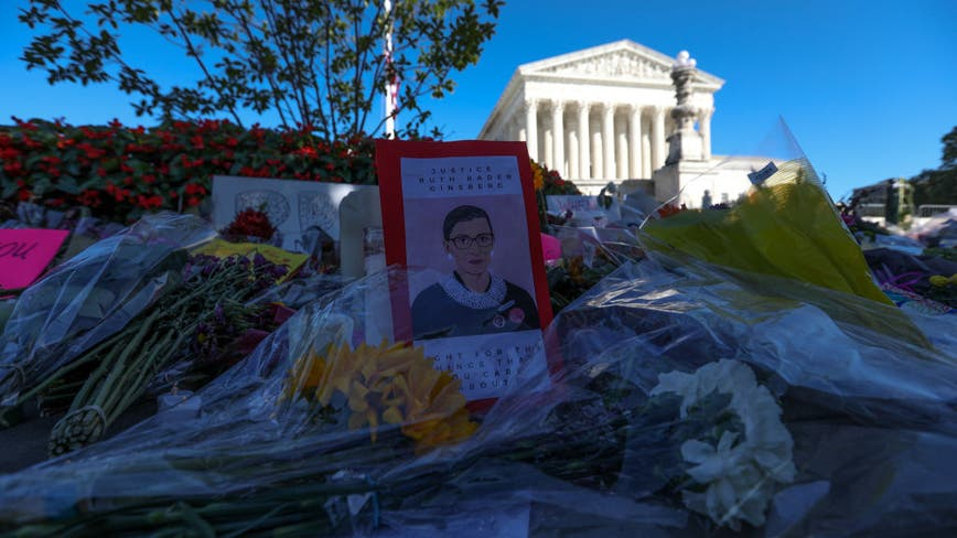 Thousands expected to honor Ruth Bader Ginsburg at Supreme Court