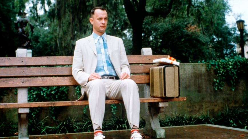 Tom Hanks says he personally paid to shoot some 'Forrest Gump' scenes