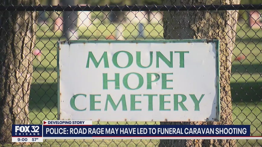Man shot, child among 2 hurt by glass during funeral at Far South Side cemetery