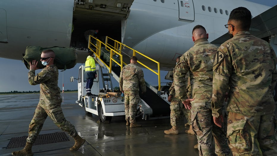U.S. Troops Arrive In Poland For Military Exercises