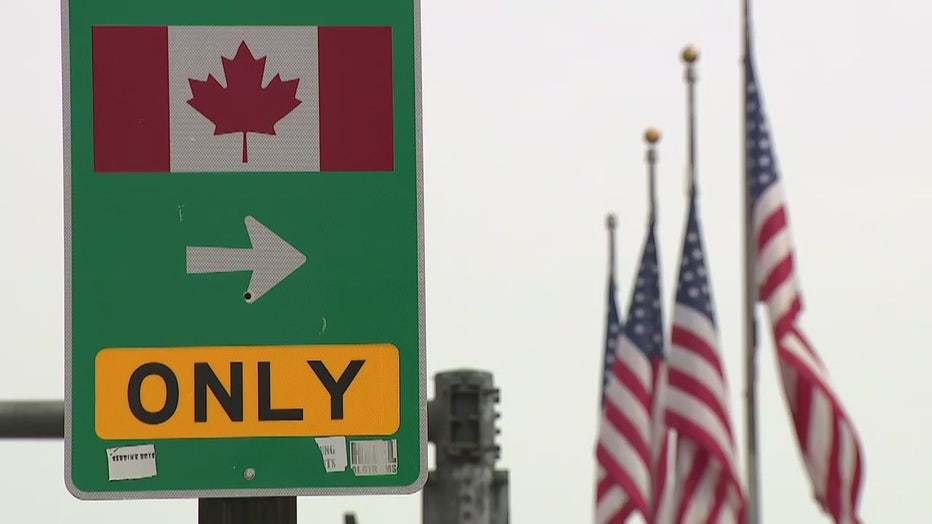 US-Canada border closing to non-essential travel at midnight