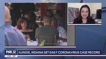 Illinois, Indiana set daily coronavirus case record