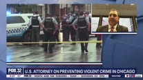 U.S. attorney talks Chicago violent crime, cooperation between law enforcement agencies