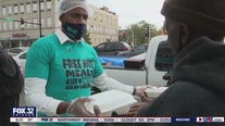 Good Samaritan dishes out free hot meals to those in need on the West Side