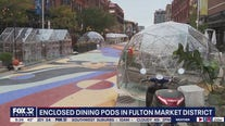 Enclosed dining pods aim to keep restaurants afloat during winter months, COVID-19 restrictions