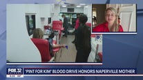 "'Pint for Kim"" blood drive honors Naperville mother"