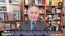 Dr. Fauci joins local group to discuss uptick in COVID-19 cases