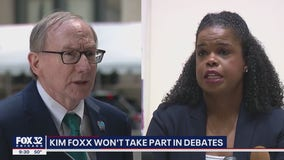 Kim Foxx says she won't debate challenger in race for state's attorney