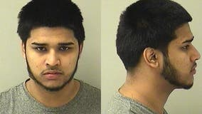 Police searching for man charged with fleeing an accident