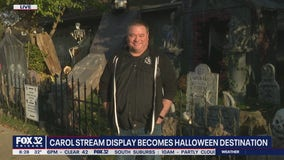 Carol Stream home goes all out with Halloween decorations