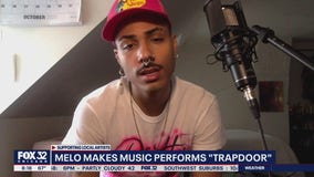 Melo Makes Music performs 'Trapdoor' on Good Day Chicago