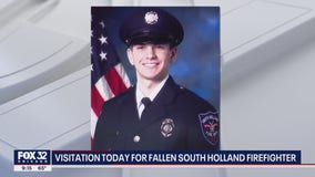 Community gathers to honor South Holland firefighter who died during training