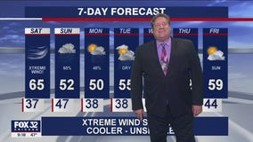 10 p.m. forecast for Chicagoland on Oct. 16