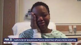 Woman injured in Waukegan police shooting says cops let boyfriend die