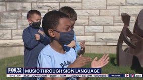 St. Damian students explore music through sign language during COVID-19