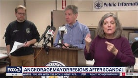 Anchorage mayor resigns after admitting to relationship with TV anchorwoman