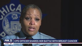 Chicago police officer shares her battle with breast cancer: 'I'm going to survive this'