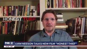 Liam Neeson talks new film 'Honest Thief'