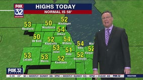 Morning forecast for Chicagoland on Oct. 28th