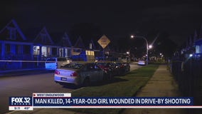 Man killed, 14-year-old girl wounded in West Englewood shooting