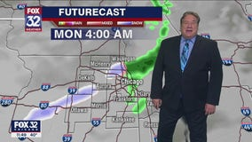 Saturday night forecast for Chicagoland on October 24