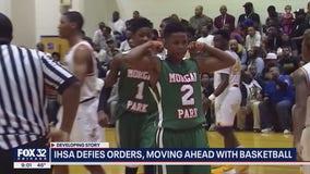 IHSA allowing basketball season to move forward in November