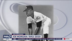 Oakland-raised baseball great and Hall of Famer Joe Morgan dies at 77