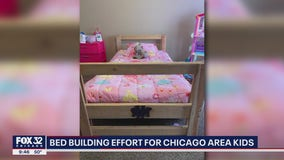 Volunteers build beds for Chicago-area children in need