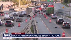 Traffic Alert: Monthslong changes coming to Dan Ryan