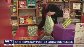 Local businesses try to compete with Amazon Prime days