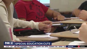 Parents, teachers express outrage over cuts to special education at Acero schools