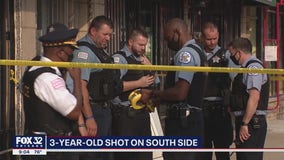 Boy, 3, accidentally shoots himself in foot on South Side: officials