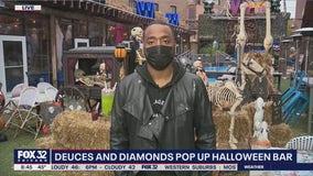All treats and no tricks at Deuces and Diamonds Halloween pop-up bar