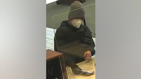 FBI searching for bank robber who struck in North Aurora