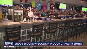 Judge blocks Wisconsin indoor capacity limits