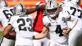 NFL recap: Raiders knock off Mahomes, Chiefs