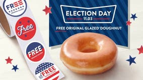 Krispy Kreme will give away free doughnuts on Election Day